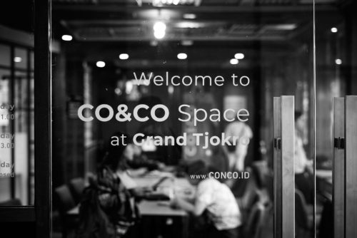 Space Warming CO&CO Space at Grand Tjokro Bandung